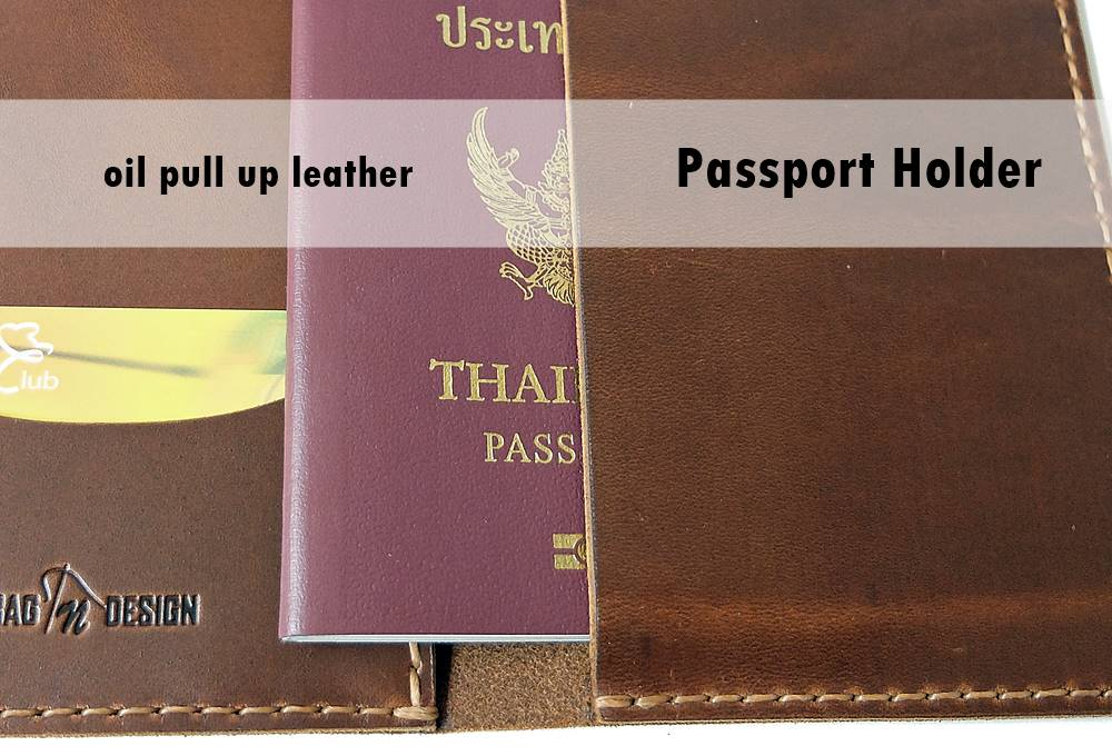 หนังแท้ ออยล์ พู อัพ Oil pull up leather