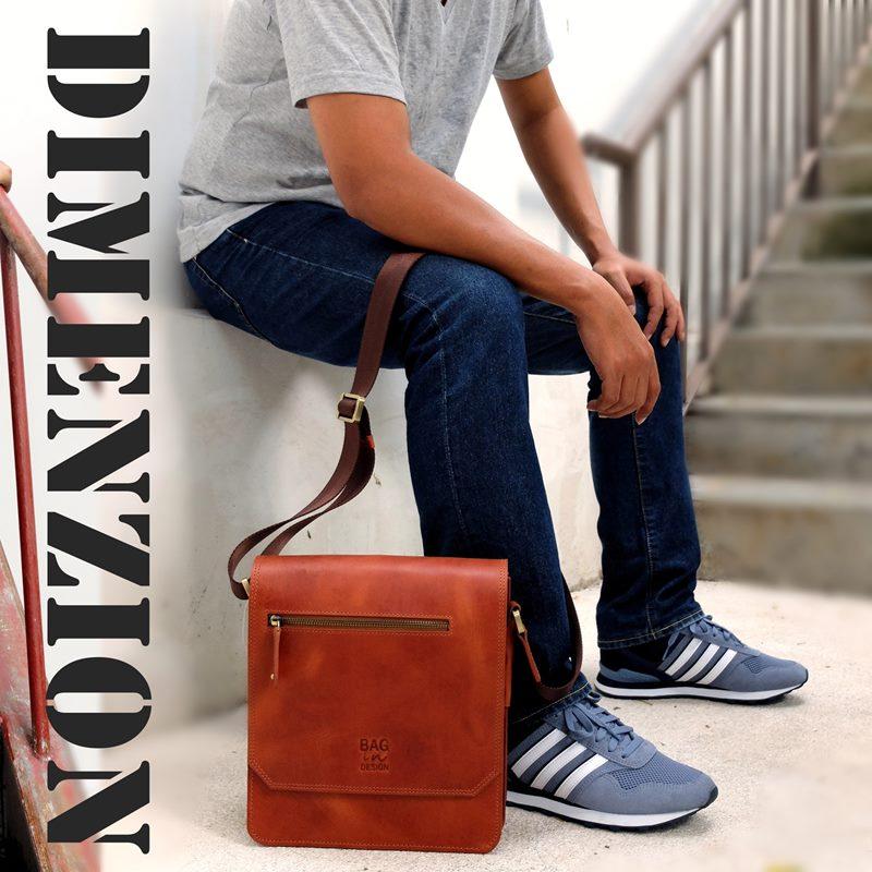 กระเป๋าหนัง รุ่น Dimenzion รายละเอียดใน Blog