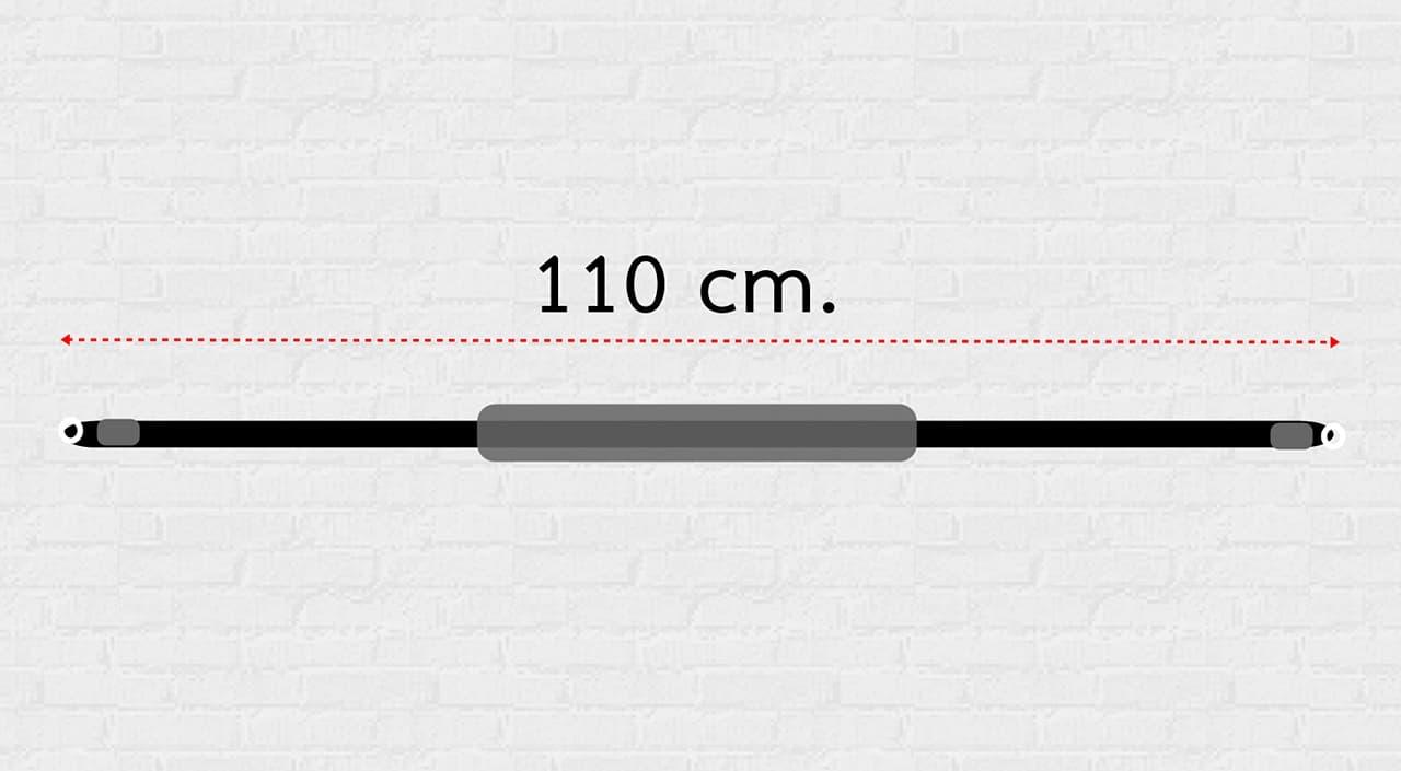 ความยาวของ สายกล้อง แบบคล้องคอ ยาว 110 cm.