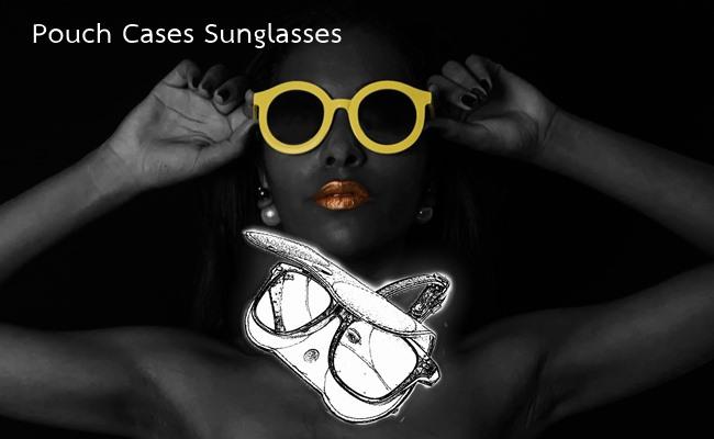 ซองแว่นตากันแดด หนังแท้