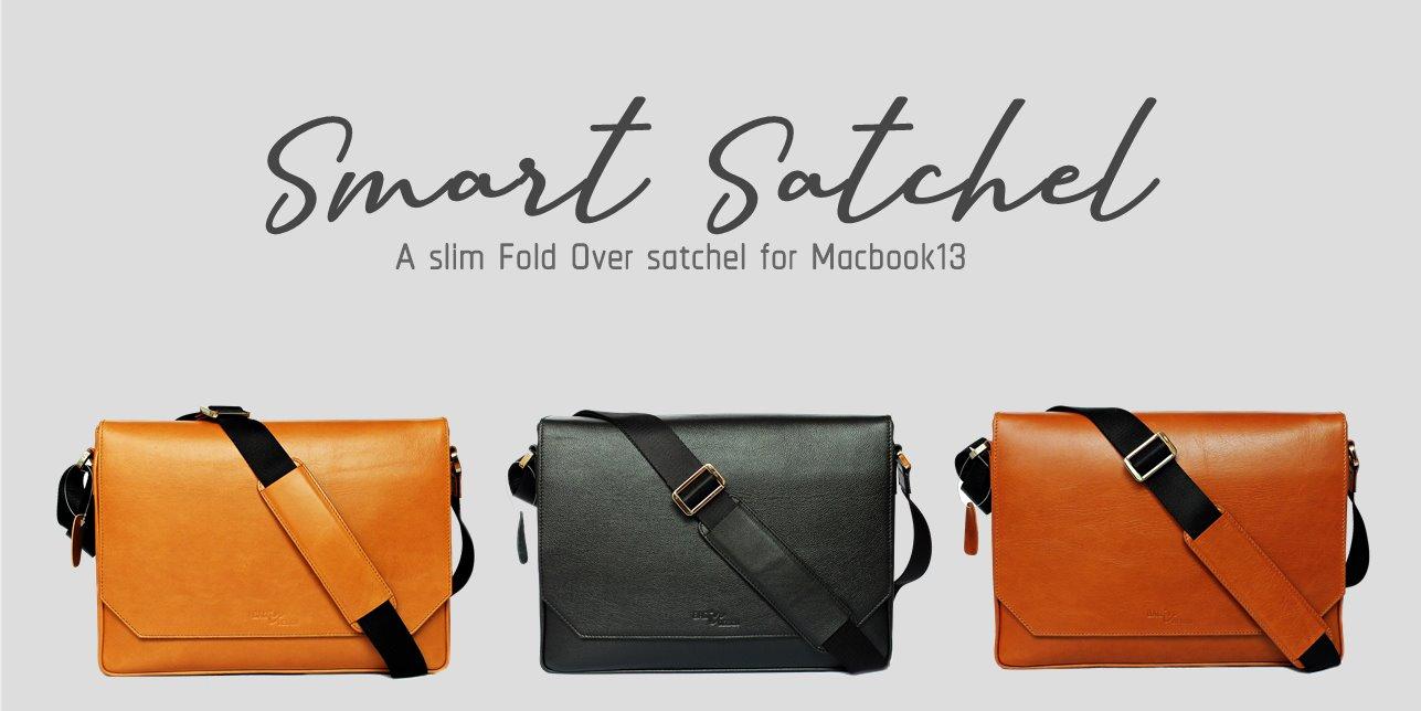 กระเป๋า macbook หนังแท้