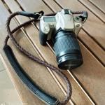 สายกล้อง Weaving leather Camera Strap Rope-Retro Brown
