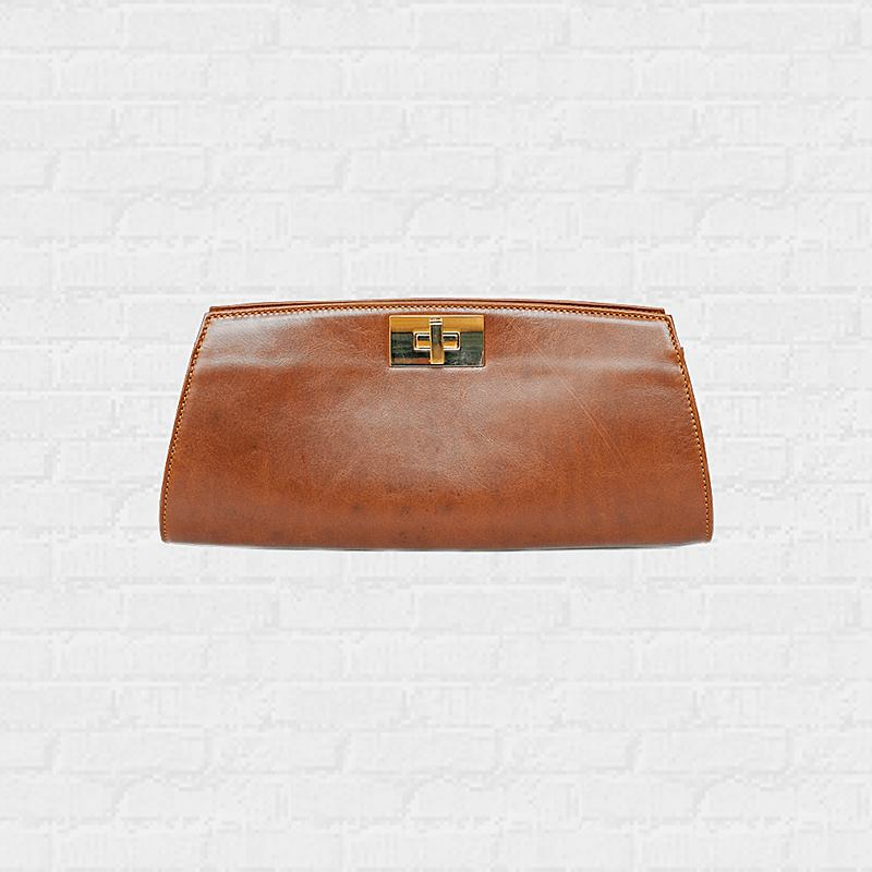 กระเป๋าผู้หญิง Posh Chestnut  Clutch  ดีไซน์เพื่อการใช้งานได้หลากหลาย