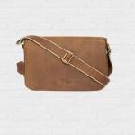 กระเป๋าหนังนูบัค Messenger Bag Nubuck  Dachshund Reborn