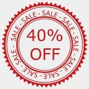 โปรโมชั่น Big Sale 40%