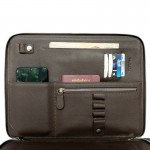 Tech. Folio Brown Color Full Grain Cow Leather ESSENTIAL for Journey