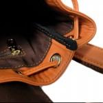 กระเป๋าเป้ ใบเล็ก Calfskin Salmon Bucket style Backpack