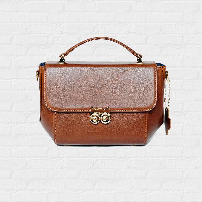 OWL Chestnut Color Handbags