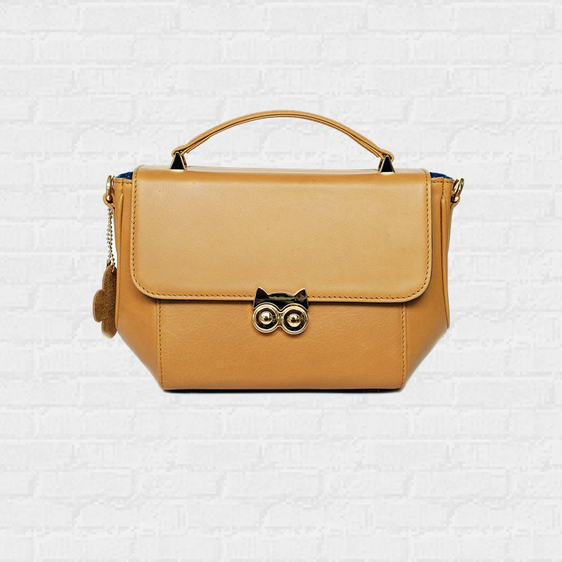 OWL handbag Golden Yellow