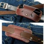 Brick Glasses Case cowhide leather ซองแว่นตาหนังแท้ ้