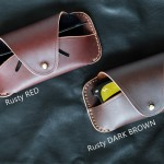Rusty Red Glasses Case