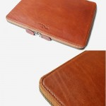 Tech. Folio Saddle Brown Color Cowhide full grain ESSENTIAL Journey