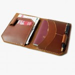 Passport Holder With Pen Slot