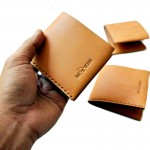 Simple Compact WALLET Nude color