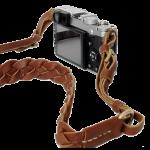 สายกล้องหนังแท้ Neck Strap Camera Artisan Weave