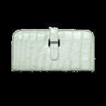 Wallet Paddock Crocodile Snow