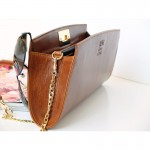 Posh Chestnut  Clutch
