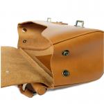 กระเป๋าถือ Zen GINGER หนังแท้ชนิดฟอกฝาด สำหรับผู้หญิง