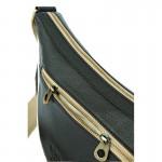 กระเป๋าหนังแท้ พาดลำตัว Semilunar Shadow