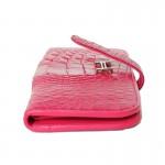 Wallet Paddock Crocodile Pink-2