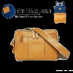 Backpack i'm Blue Jean กระเป๋าเป้ แปลงร่างได้ กระเป๋าสะพาย หนัง และผ้ายีนส์